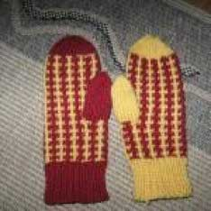 Plain Wool is too Porous - These mittens need covers